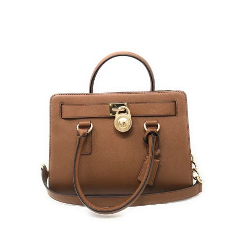 059757a4ea67 Michael Kors Large Saffiano Leather Hamilton East West Satchel 38F8YHMS3L