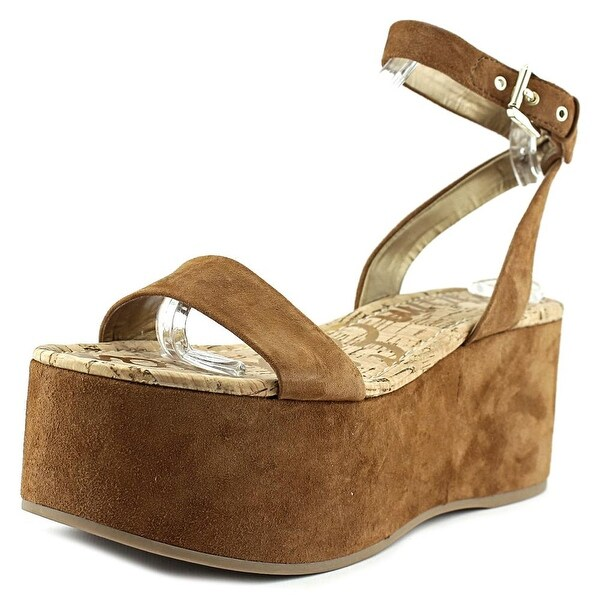 Sam Edelman Henley Open Toe Synthetic Platform Sandal