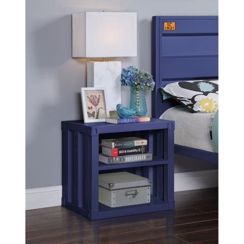 """Q-Max 20""""H Nightstand With TWO Open Shelves"""