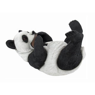 Adorable Baby Panda Tabletop Wine Bottle Holder - 6 X 9 X 4.5 inches
