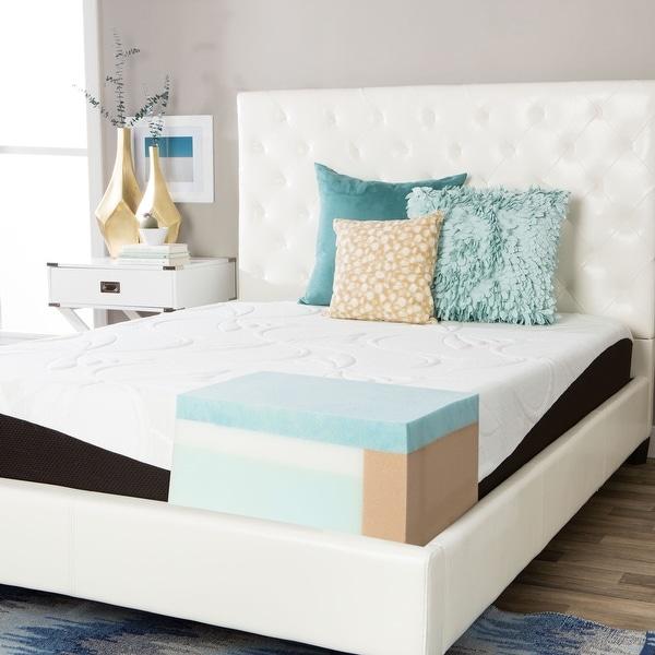 ComforPedic from Beautyrest Choose Your Comfort 10-inch Gel Memory Foam Mattress. Opens flyout.