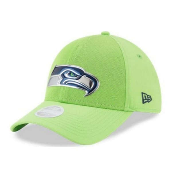 New Era Seattle Seahawks Baseball Cap Hat NFL 2017 Color Rush 9Forty  11460990 8707a9059