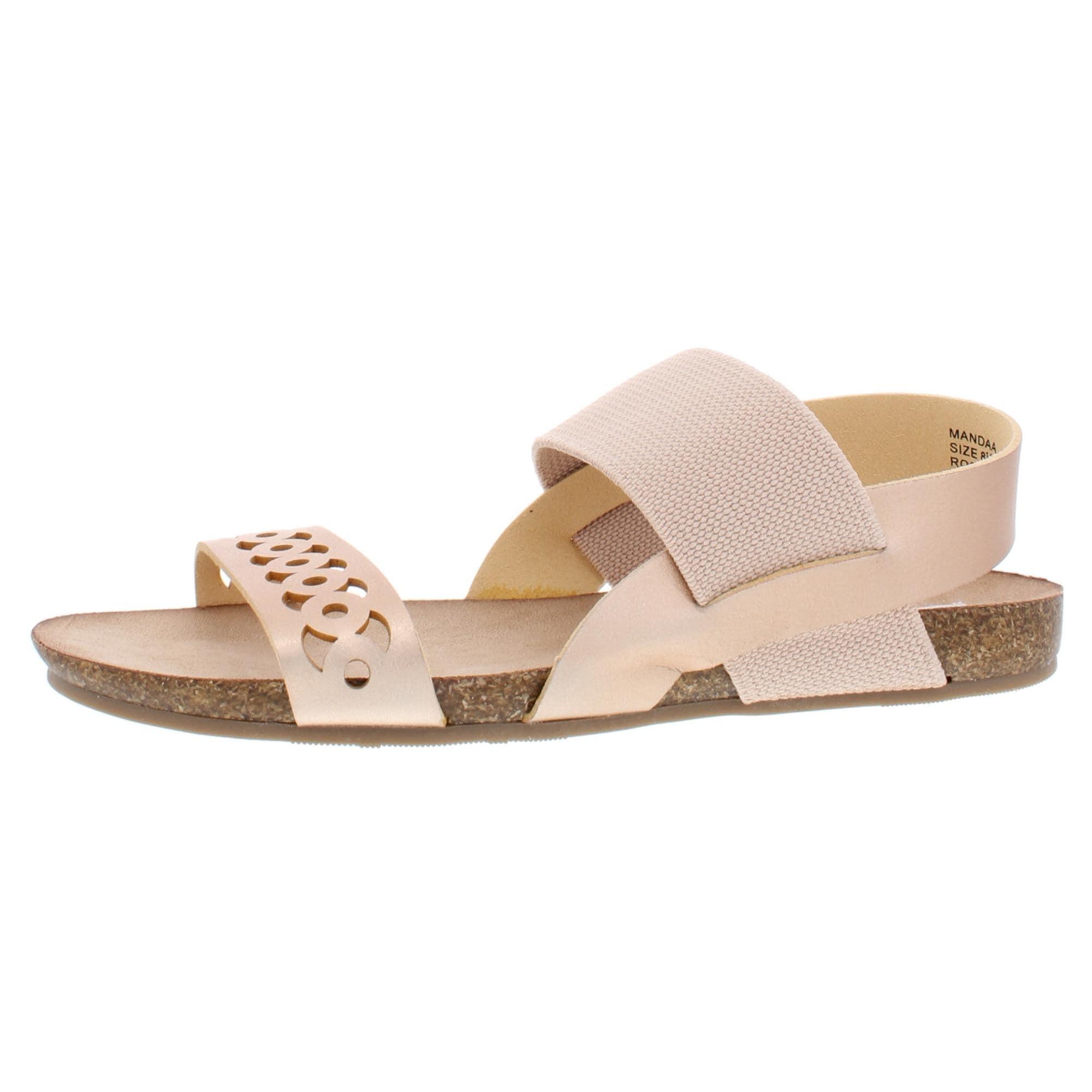 Steve Madden Womens Mandaa Flat Sandals