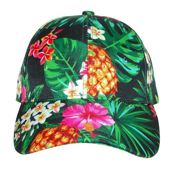 c755714f163 Shop David   Young Women s Tropical Floral Print Baseball Cap - Free ...