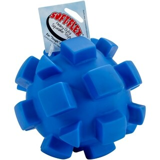 Soft-Flex Bumpy Ball Dog Toy, 7-inch