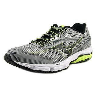 Mizuno Wave Legend 3 Men Round Toe Synthetic Gray Running Shoe
