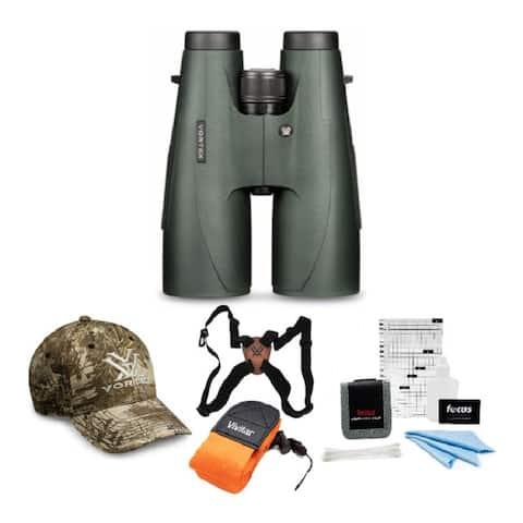 Vortex Optics Vulture HD 15x56 Binocular with Harness Strap Bundle