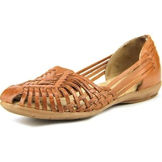 Naturalizer Gobi Women  Round Toe Leather Brown Flats