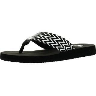 Corkys Womens Bebop Fashion Flip Flop Eva Sandals Shoes - Hot Pink - 7 b(m) us
