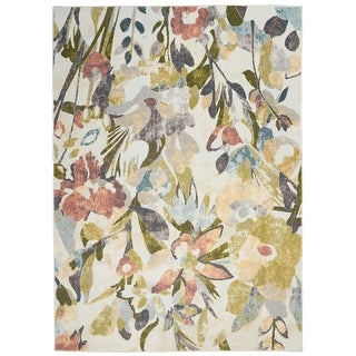 Link to Nourison Trance Floral Area Rug Similar Items in Transitional Rugs