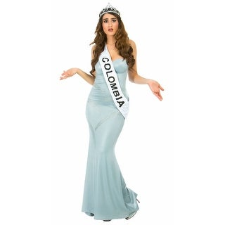 Miss Almost Won Costume, Miss Colombia Costume
