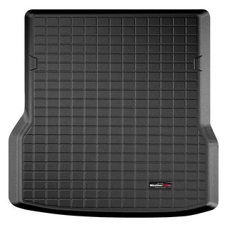 WeatherTech 40568 Series Black Digital Fit Cargo Liner: Tesla Model S 2012 +, behind 2nd row