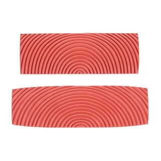 "Wood Graining Rubber Grain Tool Pattern Wall Art Painting DIY Red MS22 2Pcs - MS22-4+5"" 2in1 Set"