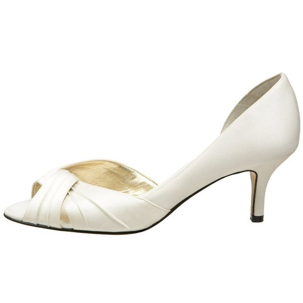 Nina Womens Culver Peep Toe D-orsay Pumps