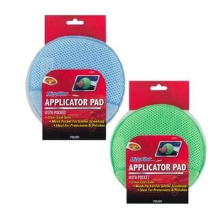 "Detailers Choice 9-27MC Microfiber Applicator Pad With Pocket, 6"""