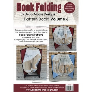 Debbi Moore Book Folding Pattern Book-Volume 6, 7 Designs