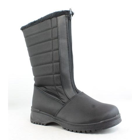 Tundra Womens Christy Black Snow Boots Size 7