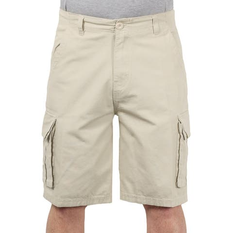 Sofich Young Men's Heavy Twill Cotton Cargo Shorts