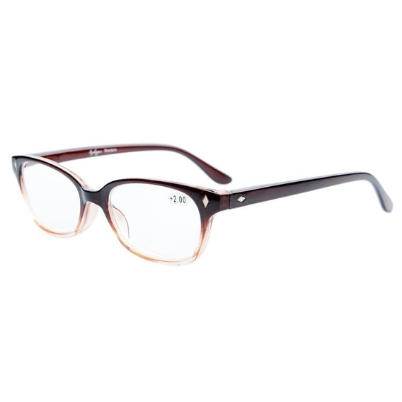 fd8c8c6799fc Shop Eyekepper Vintage Plastic Frame Spring Hinges Reading Glasses Readers+2.0  - Free Shipping On Orders Over  45 - Overstock - 15947451