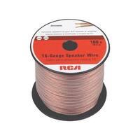 RCA 100' 16/2 Speaker Wire