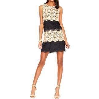 Jessica Simpson Womens Casual Dress Lace Sleeveless