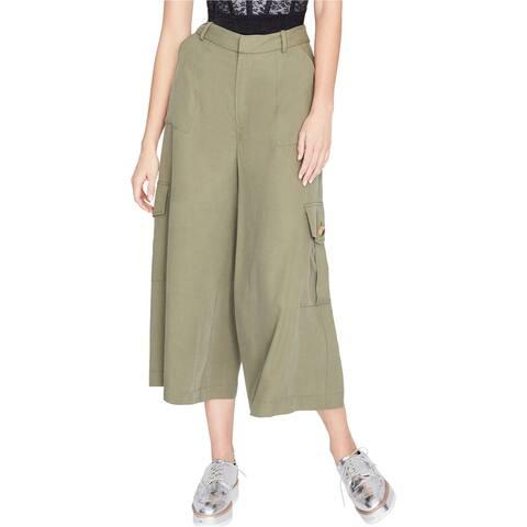 Rachel Roy Womens Wide Leg Casual Cargo Pants