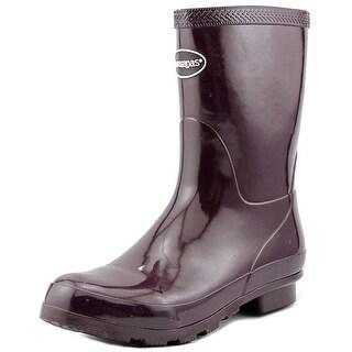 Havaianas AUBERGINE Women Round Toe Synthetic Purple Rain Boot