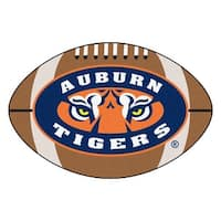 Auburn University Tigers Football Area Rug