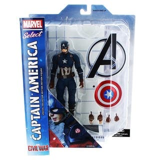 """Captain America: Civil War 7"""" Marvel Select Action Figure: Captain America