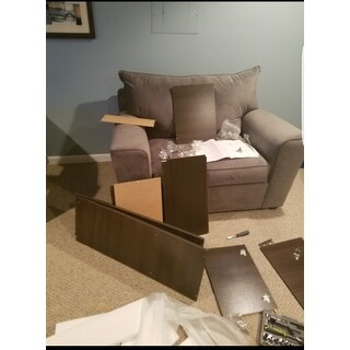 Accentuations by Manhattan Comfort Dali-3- Shelf Rolling Storage Cabinet