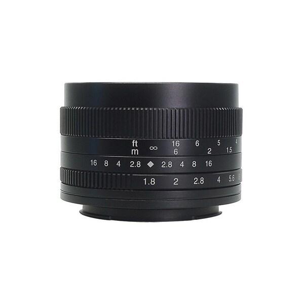 7artisans 50mm f/1.8 Manual Lens (Black) for Sony E-Mount Cameras - Black