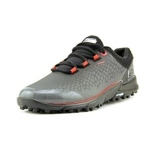 Skechers Go Golf- Bionic Men Round Toe Synthetic Black Golf Shoe