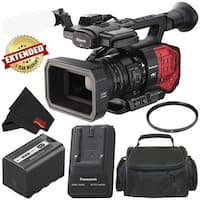 Panasonic AG-DVX200 4K Professional Camcorder with Four Thirds Sensor and Integrated 13x Leica Zoom Lens - Bronze Level Bundle