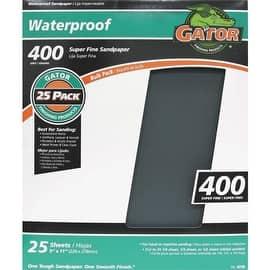 Gator 400B Wet/Dry Sandpaper|https://ak1.ostkcdn.com/images/products/is/images/direct/f52191b6e1cf17580feec05550d72995ed7435aa/Gator-400B-Wet-Dry-Sandpaper.jpg?impolicy=medium