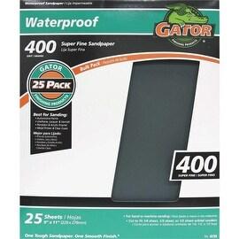 Gator 400B Wet/Dry Sandpaper