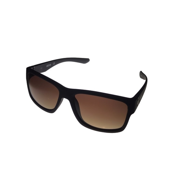 693aba4bd011 Shop Kenneth Cole Reaction Mens Brown Plastic Square Sunglass KC1246 49F -  Medium - Free Shipping On Orders Over $45 - Overstock - 13770987