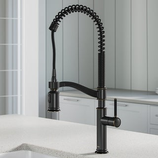 Link to Kraus KPF-1683 Sellette Commercial 2-Function Pulldown Kitchen Faucet Similar Items in Faucets