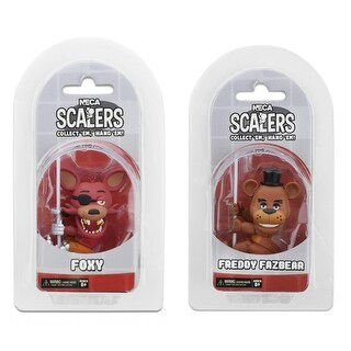 """Five Nights at Freddy's 2"""" Scalers Minifigure Bundle: Foxy and Freddy - multi"""