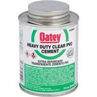 Oatey 1/2Pt H/Duty Pvc Cement 30863 Unit: EACH