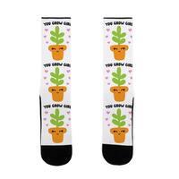 LookHUMAN You Grow Girl US Size 7-13 Socks