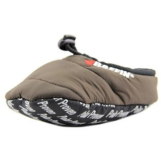 Baffin Cush Youth Round Toe Canvas Brown Slipper