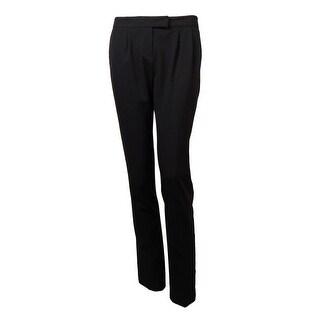 Laundry Women's Pleated Slim Leg Pants
