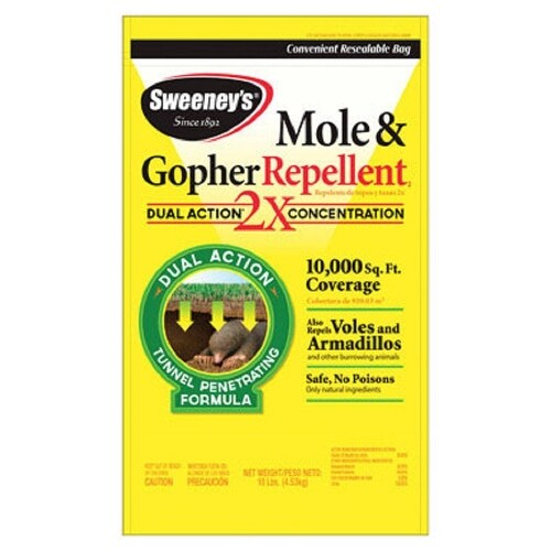Sweeney's S7002-1 Mole & Gopher Repellent, 10 lbs