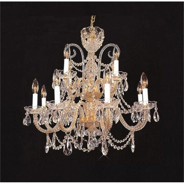 489000-8-4HB Crystal Chandelier Antique Reproduction with Hand - 489000-8-4HB Crystal Chandelier Antique Reproduction With Hand