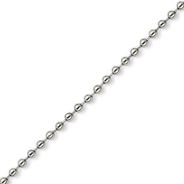 Chisel Stainless Steel 5mm Ball Chain - 24 Inches (5 mm) - 24 in