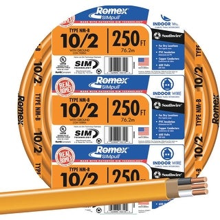 Southwire 250 10-2 Nmw/G Wire