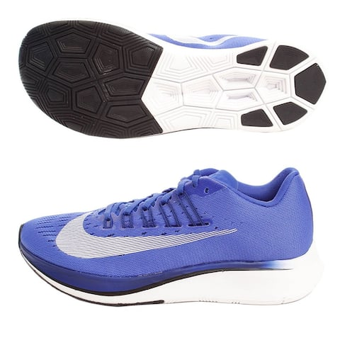 sale retailer f5727 ab93d Nike Womens Zoom Fly Low Top Lace Up Running Sneaker