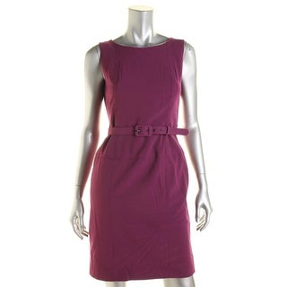 Nine West Womens Sleeveless Knee-Length Wear to Work Dress - 2