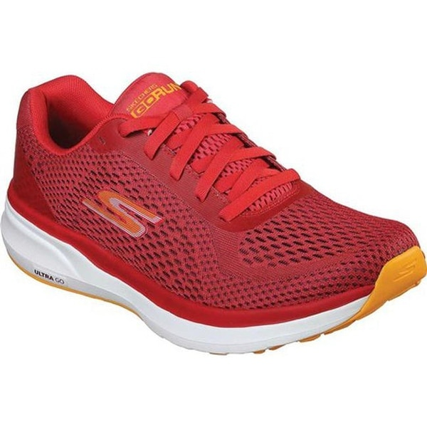 bc531c2a6ac Shop Skechers Men s GOrun Pure Running Shoe Red Orange - Free ...