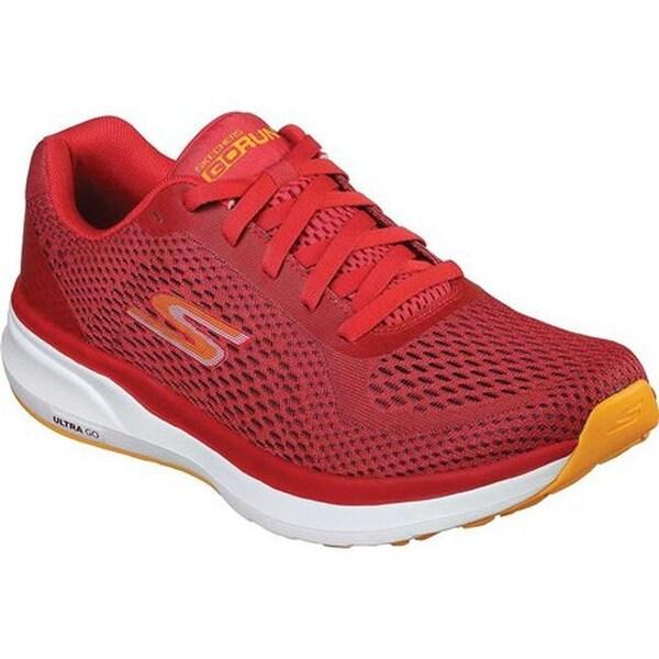 Shop Skechers Men S Gorun Pure Running Shoe Red Orange